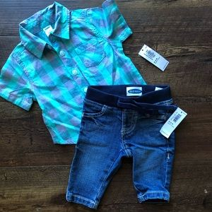 Old Navy Baby Boy Outfit